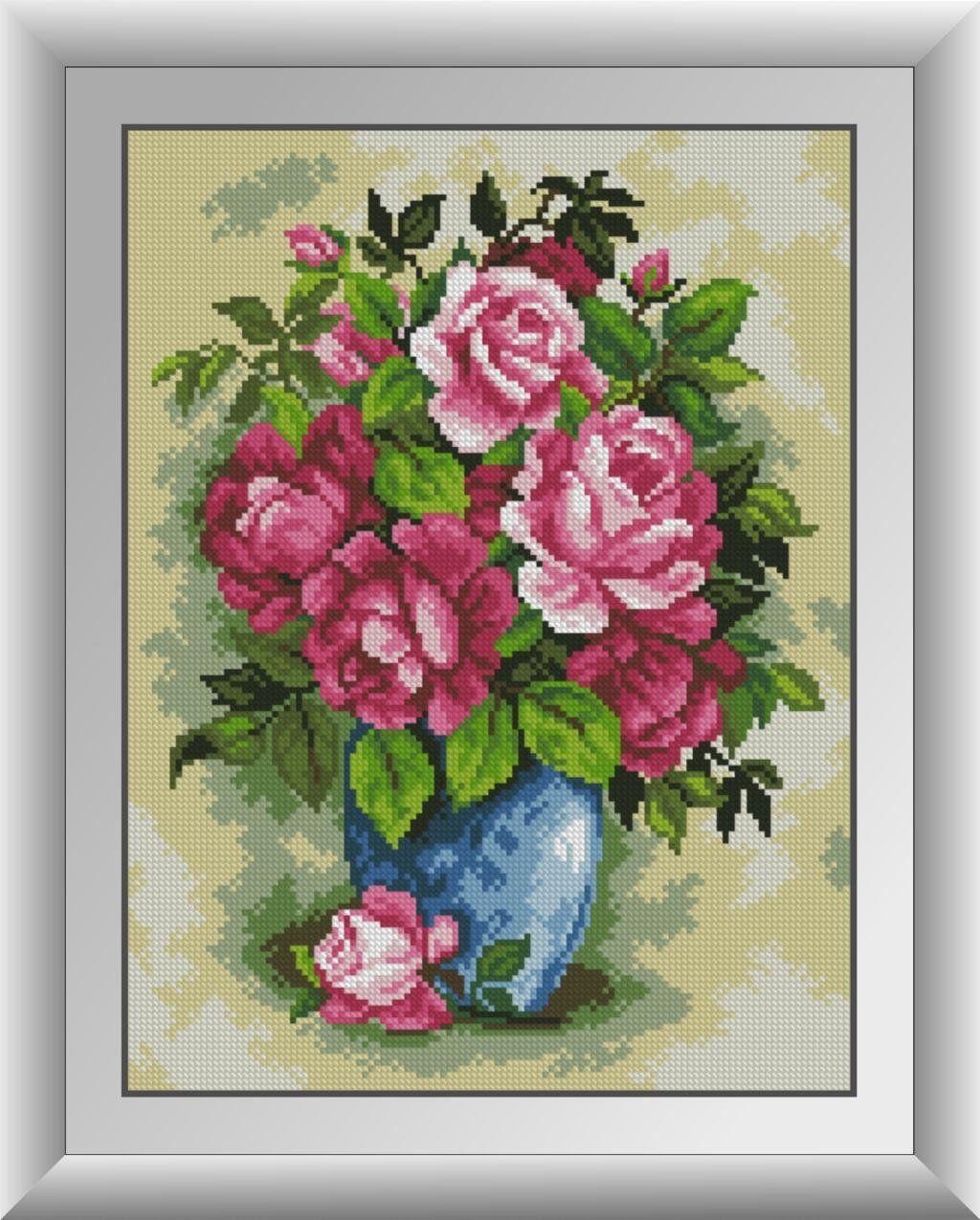 30696 Набор алмазной мозаики Великолепные розы