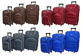 Набор дорожных чемоданов на колесах Siker Lux набор 3 штуки