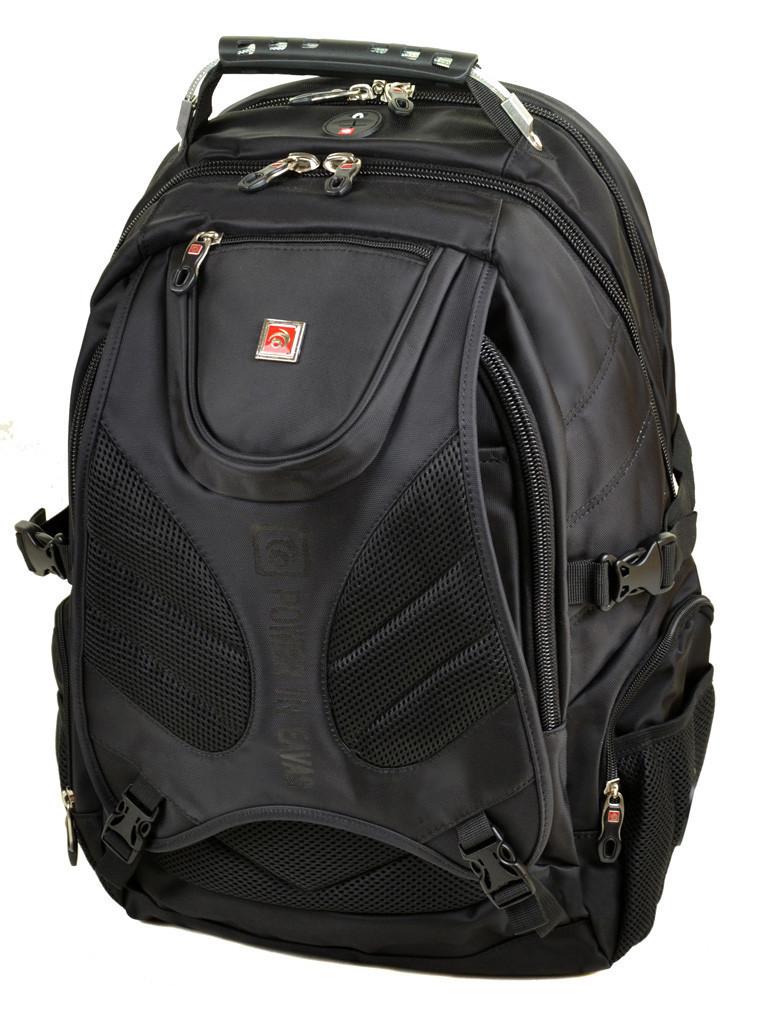 Городской рюкзак на 2 отделения Power In Eavas 8898 black