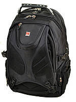 Городской рюкзак на 2 отделения Power In Eavas 8898 black, фото 1