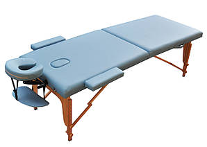 Массажный стол  складной  ZENET  ZET-1042 LIGHT BLUE  размер L (195*70*61)