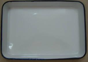 ЛУЕ-305 Лоток прямокутний емальований 300 х 250 х 35 мм