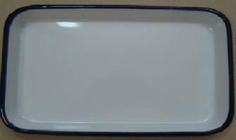 ЛУЕ-300 Лоток прямокутний емальований 300 х 200 х 35 мм