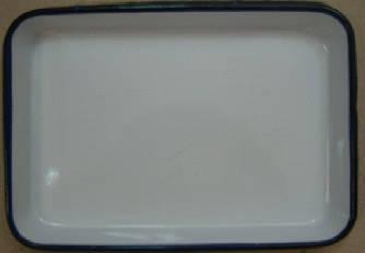 ЛУЕ-260 Лоток прямокутний емальований 260 х 200 х 35 мм