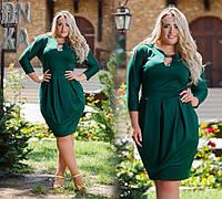 Классическое платье больших размеров
