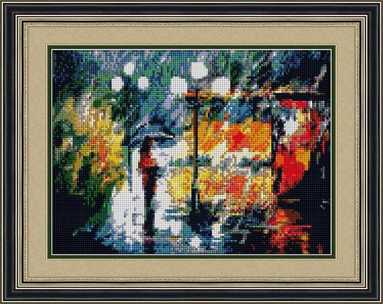 30110 Набор алмазной мозаики Акварельный вечер, фото 2