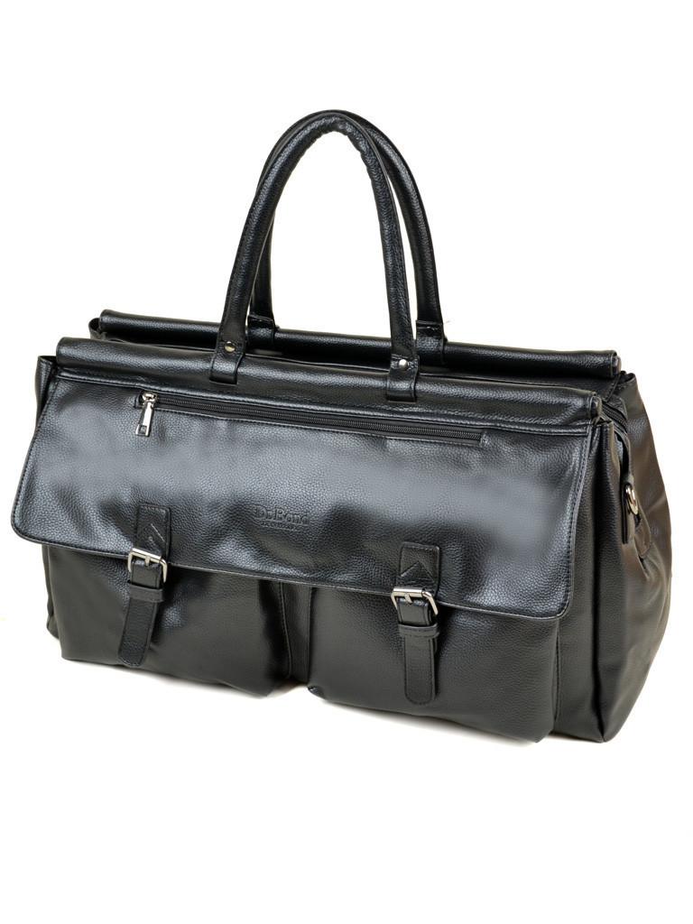 Дорожная сумка-саквояж dr. Bond 8712 black
