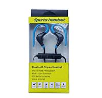 Беспроводные Спортивные Bluetooth Наушники с микрофоном Синий