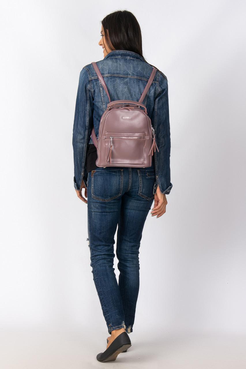 Кожаный рюкзак сумка ALEX RAI разные цвета