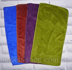 Полотенце кухонное для рук микрофибра 50х25 см (Z210)