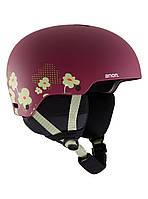 Гірськолижний шолом Anon Rime 3 (Maroon Flowers) 2020, фото 1