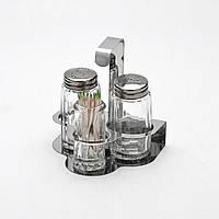 Набор для специй стекло в металлической подставке 3 пр.MB-2529 Mayer&Boch
