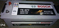 Аккумулятор Bosch T5 180AH/1000A (TE077) EFB