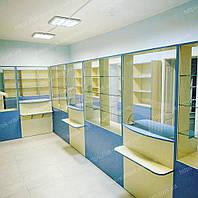 Аптечная мебель, Мебель для аптеки, Оборудование аптеки, Витрины, фото 1