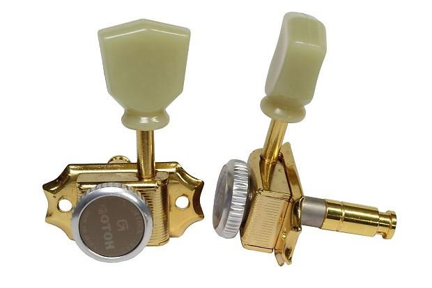 Колки для электрогитары замковые GOTOH SD90-SL MG-T GG