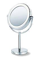 Зеркало косметическое Beurer BS 69 с подсветкой с увеличением 5х настольное