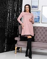 Женское платье трапеция из мягенькой ангоры