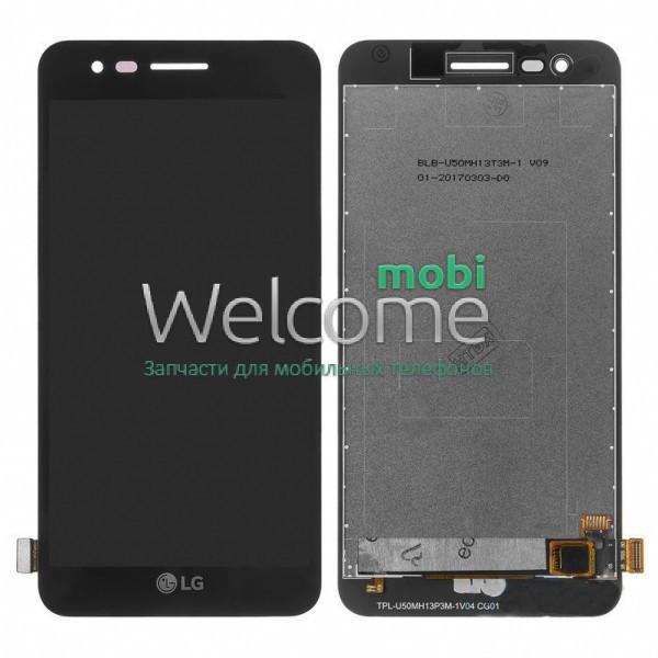 Модуль LG M160 K4 (2017),M150 Phoenix 3,M151,M153 Fortune,M154 black дисплей экран, сенсор тач скрин ЛЖ
