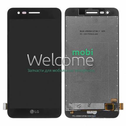Модуль LG M160 K4 (2017),M150 Phoenix 3,M151,M153 Fortune,M154 black дисплей экран, сенсор тач скрин ЛЖ, фото 2
