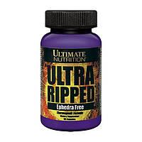 Жиросжигатель Ultimate Nutrition Ultra Ripped Ephedra Free (90 капсул)