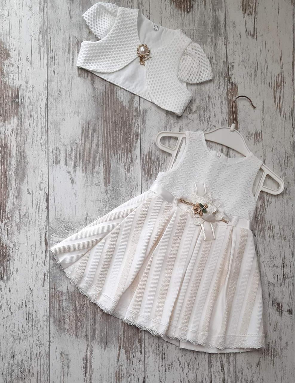 Детское платья для девочки с болеро  р. 2-4 лет оптом
