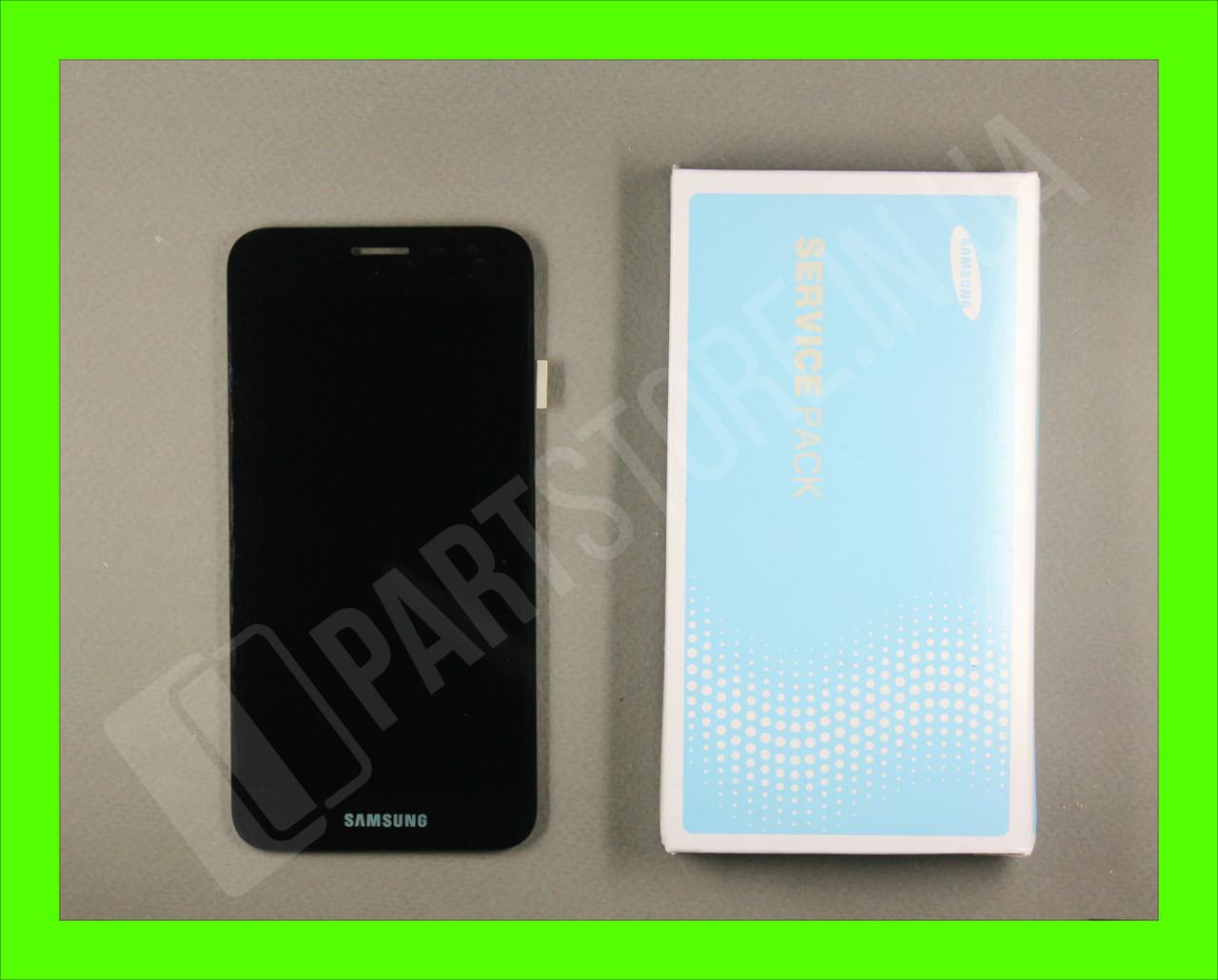 Дисплей Samsung j260 black j2 Core 2018 (GH97-22242A) сервисный оригинал