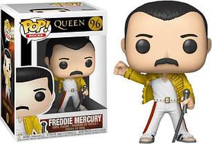 Фигурка Funko Pop Фанко ПопКвинФредди Меркьюри Queen Freddie MercuryWembley 1986 10 см Q FM 96