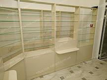 Мебель для аптеки, Шкафы и прилавки для аптек