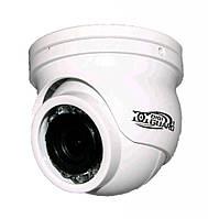 DigiGuard DG-2200 (3.6 мм). 2 МП AHD/CVI/TVI/CVBS уличная миниатюрная купольная видеокамера