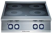 Индукционная плита верхнего расположения, 4 зоны нагрева по 5 кВт
