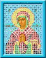 Схема для вышивки Икона Божьей Матери Семистрельная