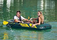 Двухместная надувная лодка Intex 68347 Seahawk 2 Set