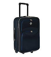 Дорожный чемодан на колесах Bonro Best Синий Средний