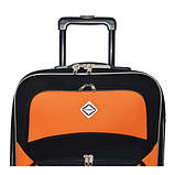 Дорожный чемодан на колесах Bonro Best Черно-темно-фиолетовый Большой, фото 5