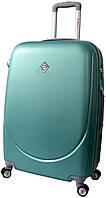 Дорожный чемодан на колесах Bonro Smile с двойными колесами Мятный Небольшой