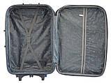 Дорожный чемодан на колесах Bonro Lux Темно-синий-красный Средний, фото 5