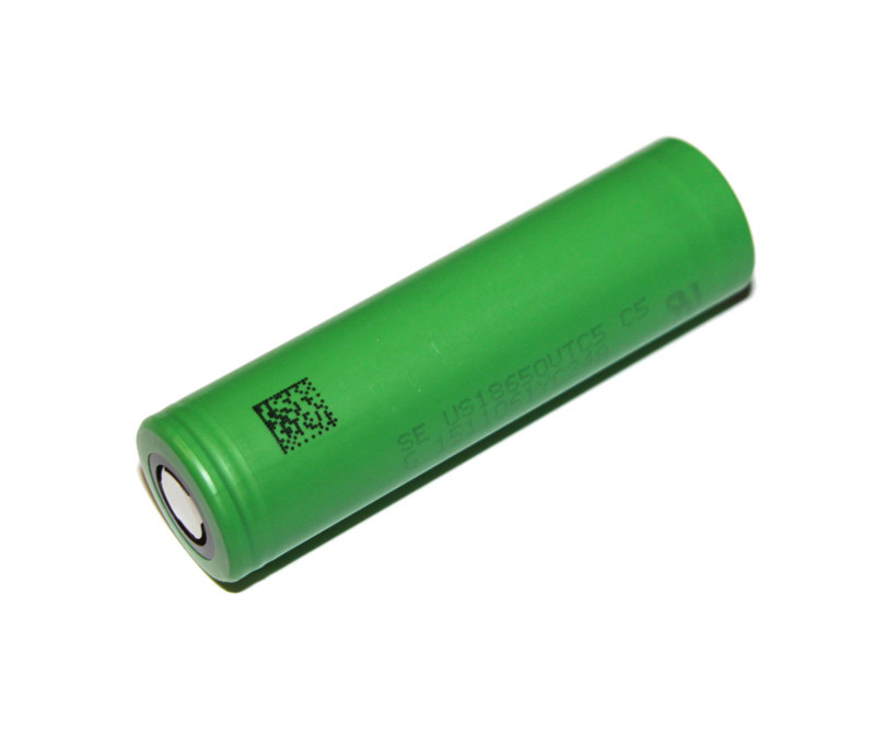 Акумулятор 18650, 2600 mAh, Sony, 1 шт, Li-Ion, 20A, 4.2/3.6/2.5 V (US18650VTC5), літієва батарейка