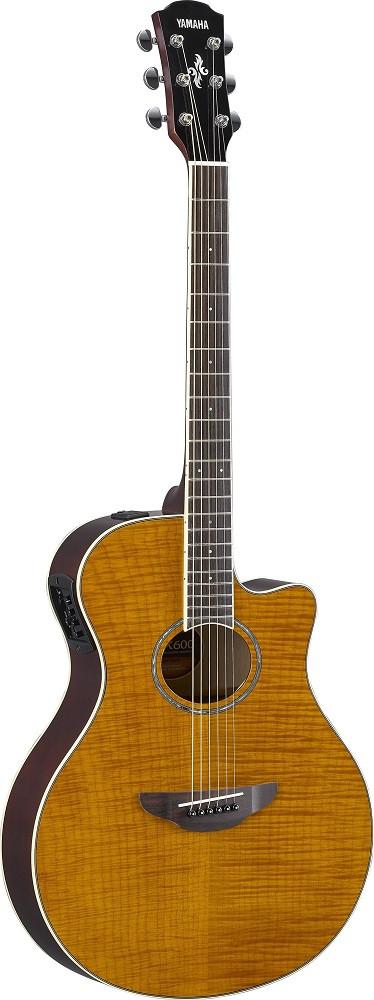 Электроакустическая гитара YAMAHA APX600FM (Amber)
