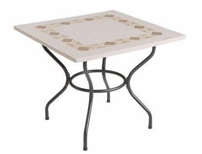 Садовые столы каменные 90х90 см