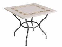 Садовые столы каменные 90х90 см, фото 1