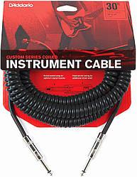 Кабель d'addario PW-CDG-30BK Coiled Instrument Cable - Black