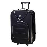 Дорожній валізу на колесах Bonro Lux Великий Чорний