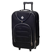 Дорожный чемодан на колесах Bonro Lux Черный Большой