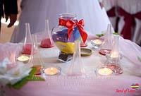 Свадебная песочная церемония в Харькове