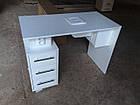 Манікюрний стіл з витяжкою, фото 6