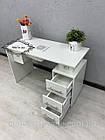 Манікюрний стіл з витяжкою, фото 9