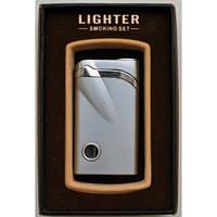 Подарочная Зажигалка XT 3841 Стильный дизайн Оригинальный Подарок Строгая форма Подарок другу Огонь в кармане