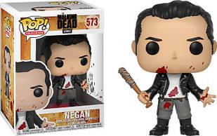 Фигурка Funko Pop Фанко Поп Ходячие мертвецы Ниган Walking Dead Negan10 см WD N 573