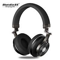 Наушники беспроводные Bluedio T3 Wireless Bluetooth Stereo Headphones. Bluetooth 4.2