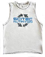 Майка Scitec Nutrition Sleeveless T-Shirt white